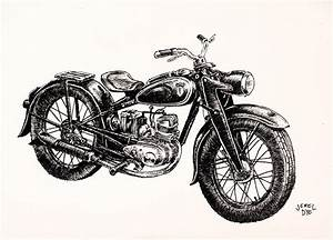 Classic Motorcycle by JadiGrin on DeviantArt