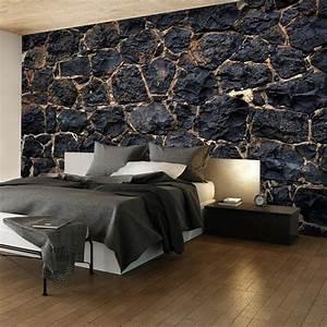 Wand Mit Steinoptik : fototapete steinoptik vlies tapete stein wand wandbild xxl ~ Watch28wear.com Haus und Dekorationen