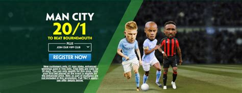 Get 20/1 Man City To Beat Bournemouth | PaddyPower Premier ...