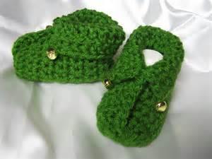 Baby Elf Booties Crochet Pattern