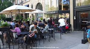 Outdoor Dining In Back Bay