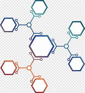Euclidean Molecule Hexagon  And Hexagonal Molecular