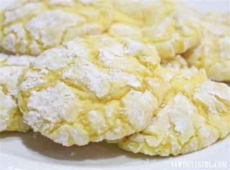 easy lemon drop cookies sawdust girl