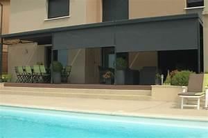Store Pour Terrasse : brise vue r tractable brise vent brise soleil vivez ~ Premium-room.com Idées de Décoration