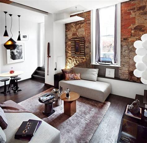 Wohnungseinrichtungideenloftwohnzimmerneutralefarben