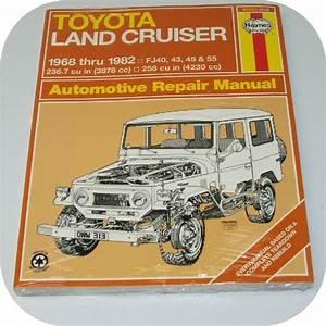 Repair Manual Book Toyota Fj40 Fj55 Land Cruiser Owners  Ebay  300107453627  Finney22   U2013 Joetlc