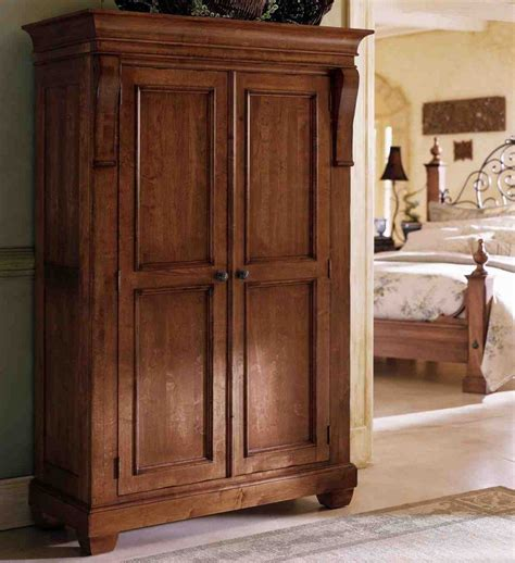 Large Clothing Wardrobe Armoire by Large Clothing Armoire Home Furniture Design
