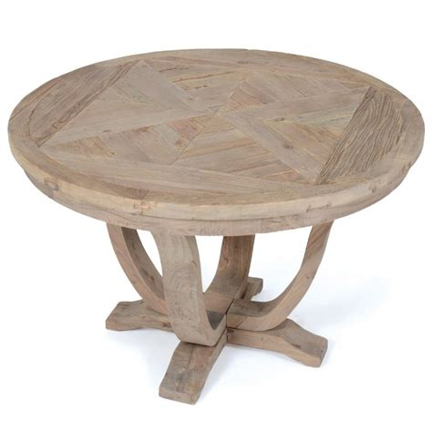 round wood dining room table furniture rustic reclaimed wood pedestal quot round dining