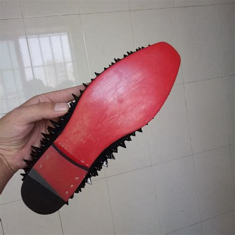 cool tiro studs red bottom loafers men flats  spikes