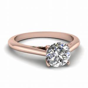 latest trends of thin band engagement rings With thin band wedding rings