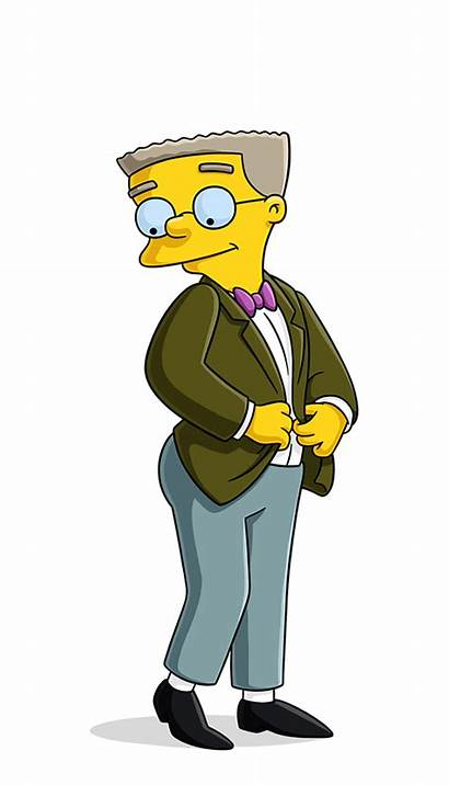 Smithers Simpsons Simpson Waylon Character Mr Burns