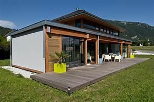 Ossature Bois Maison : maison bois savoie bbc vision bois ~ Melissatoandfro.com Idées de Décoration
