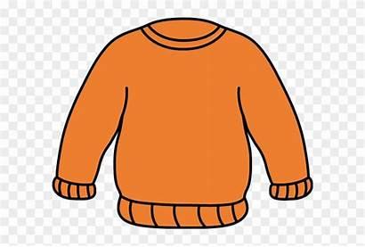Sweater Clipart Orange Clip Transparent Clipground