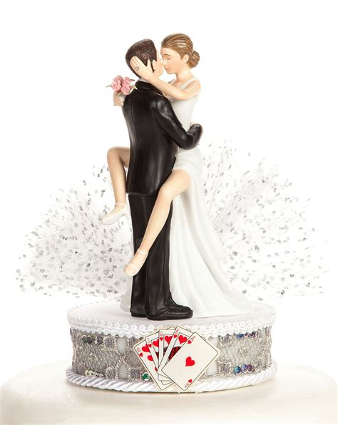 funny las vegas wedding cake topper wedding collectibles