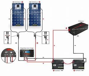Installation Panneau Solaire : montage d 39 un kit solaire autonome en 24v wattuneed ~ Dode.kayakingforconservation.com Idées de Décoration