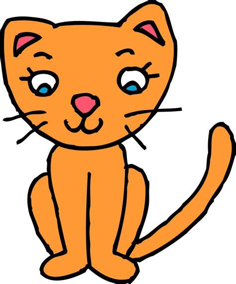 Clipart Cat - orange cat clipart free clip