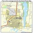 Aerial Photography Map of Williston, ND North Dakota