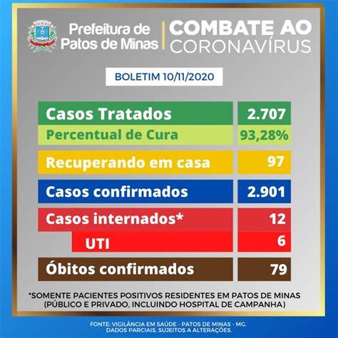 Covid-19: boletim epidemiológico confirma 9 casos nas ...
