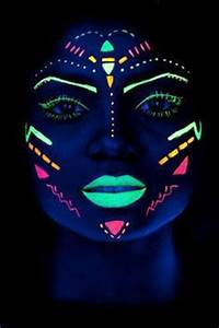 Best 25 Black light makeup ideas on Pinterest