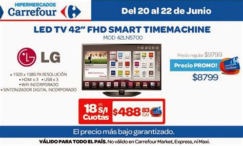promo tv carrefour tecno promos argentina promos carrefour electro