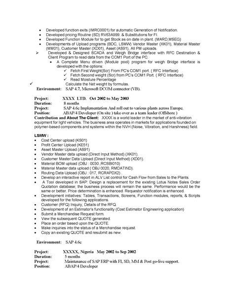 oracle hrms techno functional consultant resume techno functional consultant sle resume
