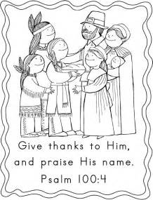 Scripture Thanksgiving Coloring Pages
