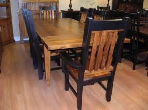 Rustic Kitchen Tables and Chairs Sets