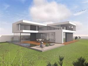 Häuser Im Bauhausstil : modernes haus im bauhausstil massivhaus wohnhaus house pinterest building a house ~ Watch28wear.com Haus und Dekorationen