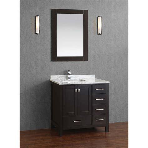 36 Inch Dark Wood Bathroom Vanity Bathroom Design Ideas