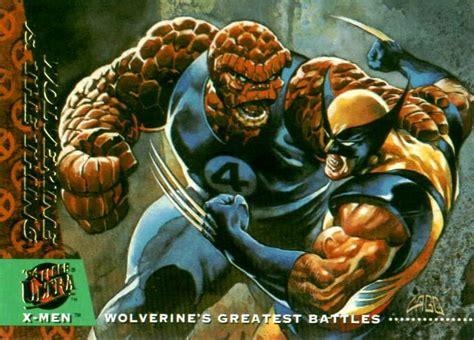 Fantastic Four vs Wolverine