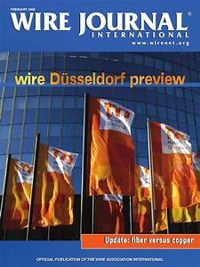 Wire Dusseldorf Preview By Wire Journal International  Inc