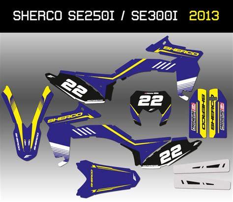 kit d 233 co sherco enduro 250 et 300se i 2012 2013 http www eight racing fr kits deco enduro