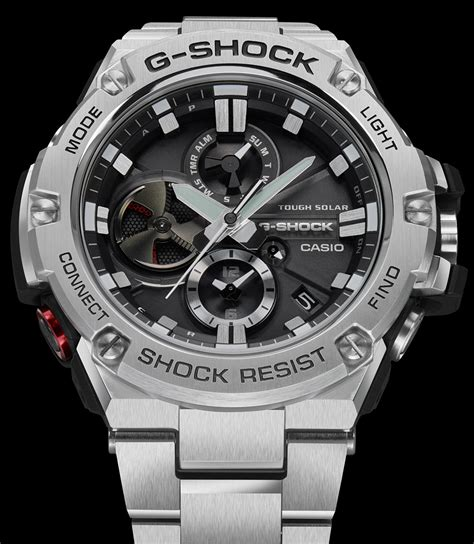 Casio G Shock Bluetooth by Casio G Shock G Steel Tough Chronograph Gst B100 Series
