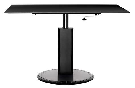 table hauteur réglable table 224 hauteur r 233 glable 360 176 bureau l 140 x h 73 224 95 cm noir magis