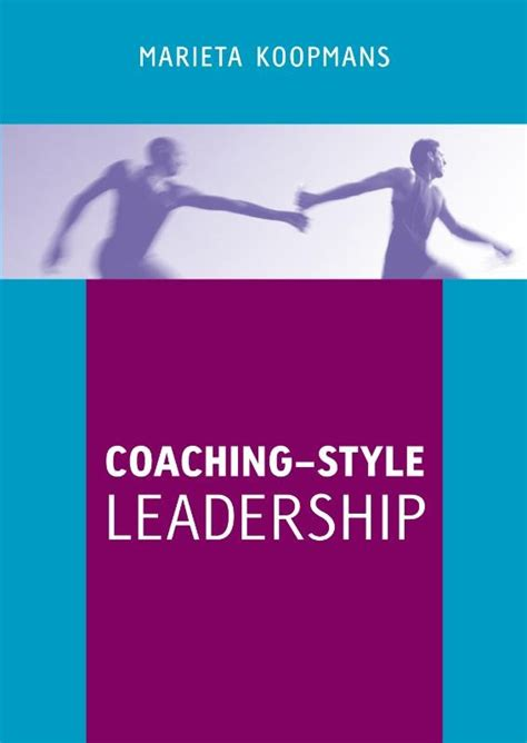 coaching style leadership  book marieta koopmans
