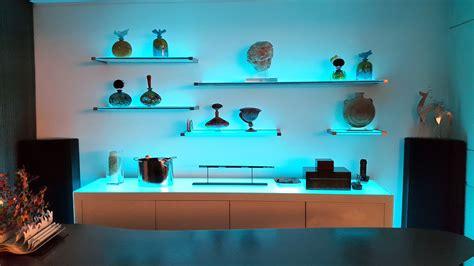 shelf lighting ikea ekby hemnes shelf light brown