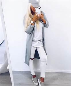 Sportliche Outfits Damen : pin von eglei auf fashion pinterest jeans und skinny ~ Frokenaadalensverden.com Haus und Dekorationen