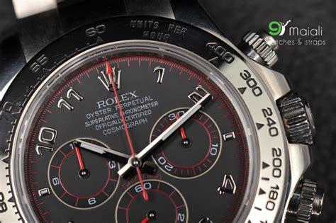 Rolex Daytona Ref. 116509 white gold black dial