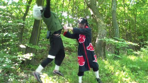 uchiha itachi  hatake kakashi real life naruto fight