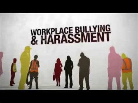 bullying harassment video health safety