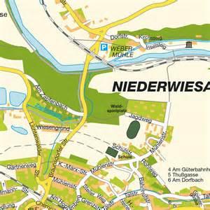 design hotels stadtplan niederwiesa deutschland karte und routenplaner maps