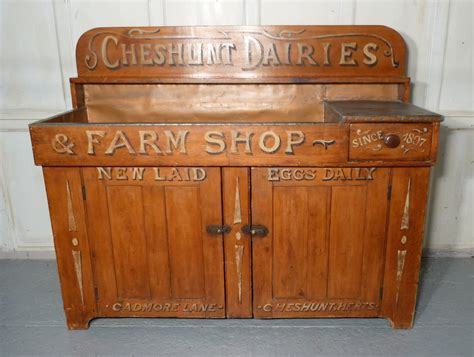 Cupboard Shop by Sign Painted Dairy Cupboard Farm Shop Country