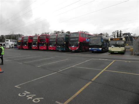 buses waiting   called     bridges bus