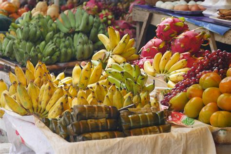 When you visit a local market in Cambodia - DINE WITH THE ...