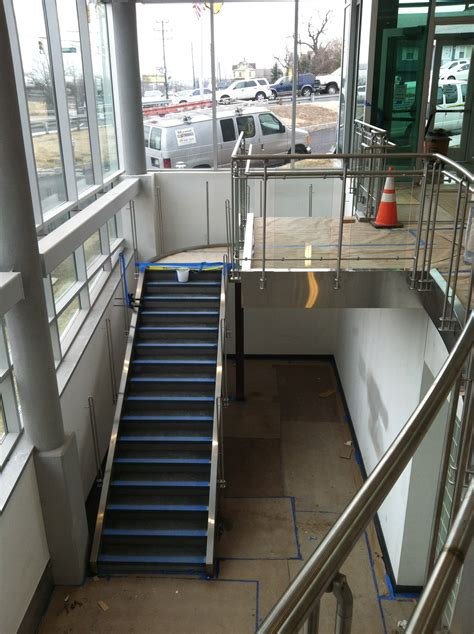 stainless steel staircase central sheet metal