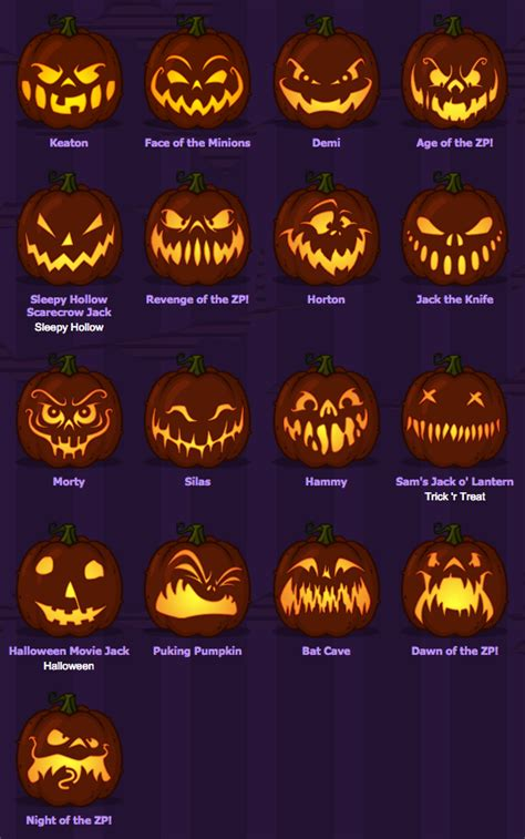 scary pumpkin faces ideas  pinterest