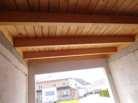 Holzbalkendecke Garage by Ist Es Ratsam Die Holzdecke Einer Freistehenden Garage Zu