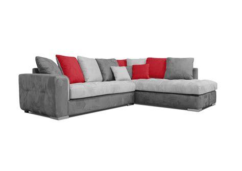canape coussin acheter votre canapé moderne coussins jetés ton gris et