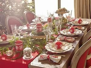 Table De Noel Traditionnelle : m lange de styles pour table de f te joli place ~ Melissatoandfro.com Idées de Décoration