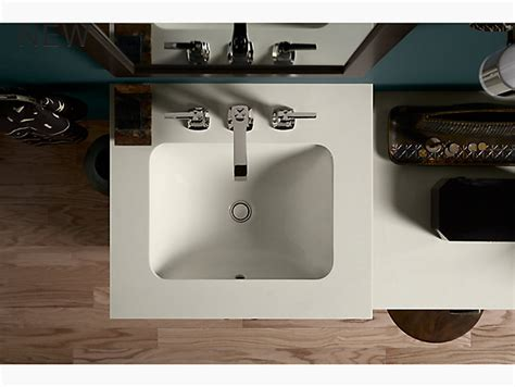 Kohler Caxton Sink Rectangular by K 20000 Caxton 174 Rectangular Mount Bathroom Sink